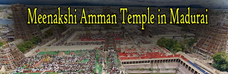 Meenakshi Amman Temple in Madurai